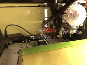 Aus 3D IR Sensor mount for Titan Aero