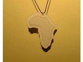Africa Pendant