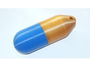 Capsule configurable with screw joint