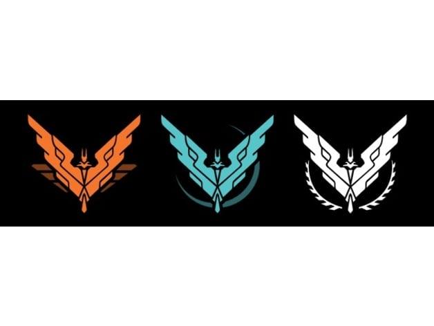 Elite Dangerous - Rank 9 badges by GrumpyOldProgrammer
