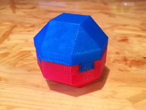 Impossible Dovetail Rhombicuboctahedron