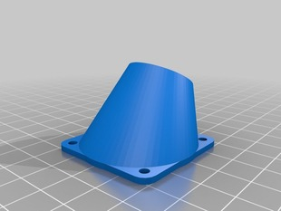 My printrbot jr fan nozzle for 40mm fans 2 walls