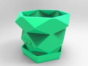 Polygon Plant Pots