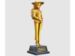 Super Mario Odyssey - Pauline Statue