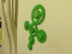 Fridge Gear Magnets