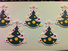 Christmas tree small decoration