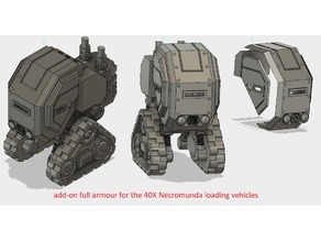 add-on full arnour 40K Necromunda loading vehicles