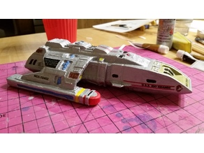 DS9 Runabout 1/100 scale