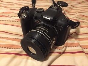 58mm Camera Solar Filter Adapter