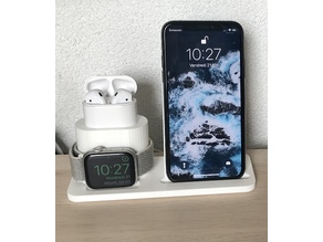 Apple 3 in 1 charging station (IKEA Qi)