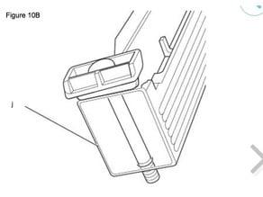 DeWalt bandsaw Dw 738 Fence clamp