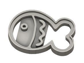 Octonauts Fish Biscuit / Fish Cookie Cutter