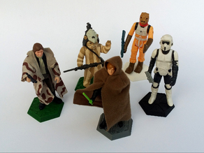 Support for Star Wars Kenner loose figures