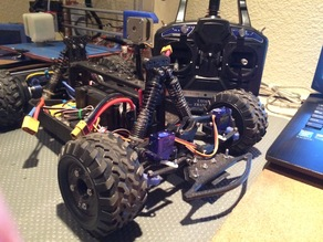 Fully 3D Printable RC Vehicle (Improved from previously posted)