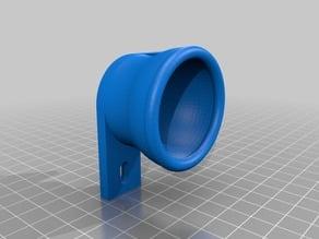 Squash ball damper for aluminium extrusion frame
