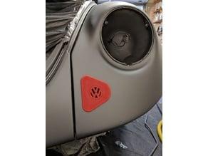 Late VW Beetle Fender Plugs