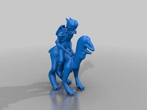 123D Creature: Graag Rider