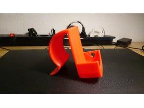 Brace holder for the Neonate BC4500D babyalarm