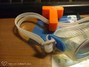 swim goggle buckle / fibbia per occhialini da nuoto