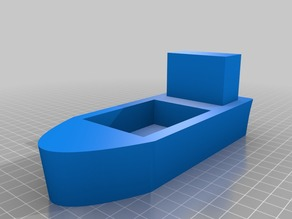 Toy Boat for Wooden Railway