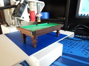 """Extreme CLUE""   Billiards Room  Billiard Table"