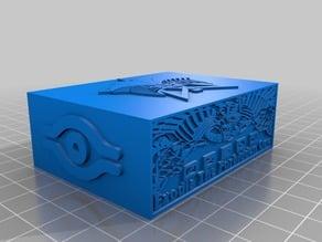 Exodia deck box & lid