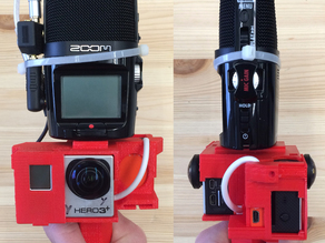 Dual GoPro 360° Video Field Kit for Reporters