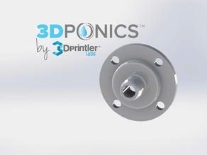 Drip Nozzle (3/4 inch, 4 holes) - 3Dponics Vertical Garden