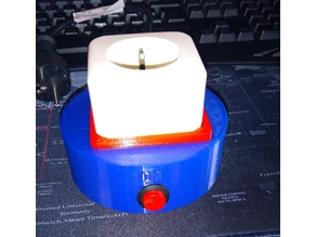 Socket with timer, ideal for soldering irons