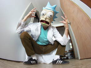Rick Sanchez mask from Rick and Morty