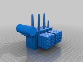 Electrical Utility Transformer