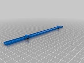 LED-strip holder for Anet A6