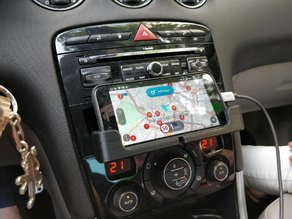 Peugeot 308 (2007-2013) phone stand