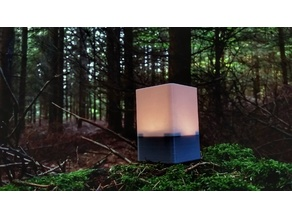 Futuristic Bedside Lamp (RGBW)