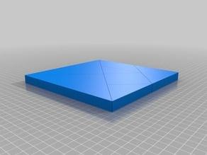 Tangram Square Puzzle