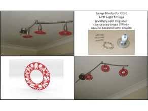 Voronoi Pattern Lamp Shade (001a)