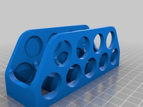 Homeopathic pills container holder