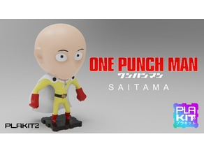 One Punch Man SAITAMA (PlaKit2 Series)