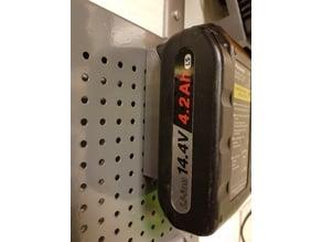 Wallmount Panasonic Drill Battery