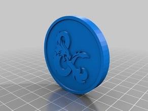 D&D Inspiration Token/Coin