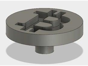 Fidget spinner mount