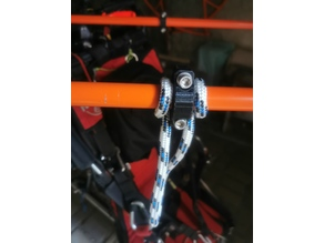 Power Paragliding Tandem project cradle ring,pipe ends, inserts,fixing