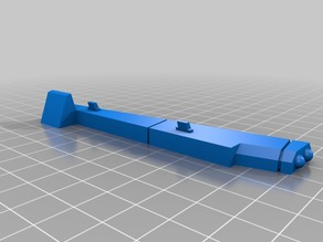 Cut Wing Supports for Albatross Gunship