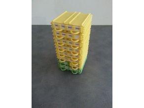 Modular drawer for resistor