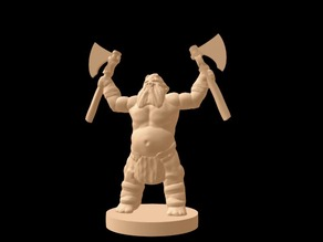 Trollspawn Marauder (18mm scale)