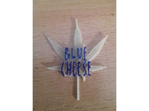 Blue Cheese Plant label