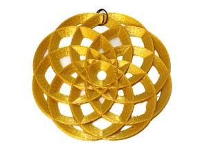 flower pendant 2