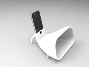 Iphone 4 Stand and Gramophone 1