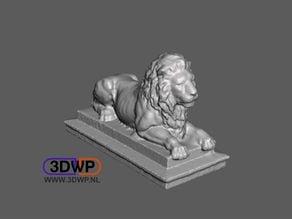 Lion Statue (Sculpture 3D Scan)