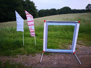 Drone FPV Racing Flag and Gate with variable size